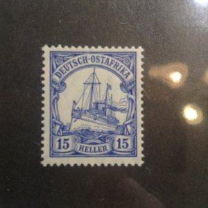German East Africa  # 34  MNH