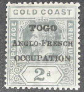 DYNAMITE Stamps: Togo Scott #82  – MINT hr