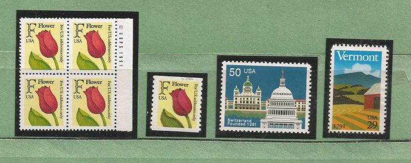 US Postage Stamps MNH (7 stamps)