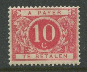 STAMP STATION PERTH Belgium #J13 Postage Due 1916 MVLH CV$48.00