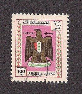 IRAQ SC# O325   FVF/U 1975