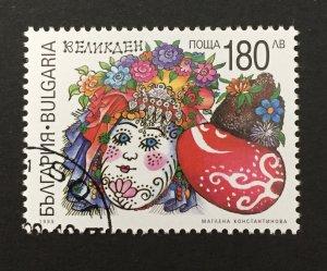 Bulgaria 1999 #4071, Easter, Used/CTO.