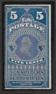 PR5, Weiss Cert. Free Insured Shipping