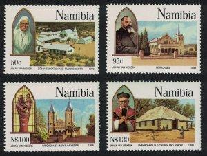 Namibia Centenary of Catholic Missions in Namibia 4v SG#681-684