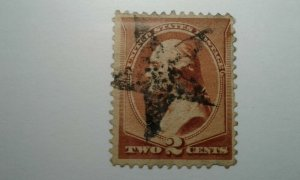 US #210 used fancy cancel  STAR combined shipping e2010 11787