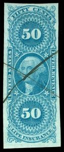 U.S. REV. FIRST ISSUE R58a  Used (ID # 84612)