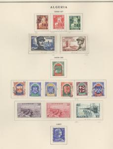 Algeria 267-284 Mint VF H