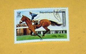 Togo - 1298, MNH - Horse Racing. SCV - $0.85