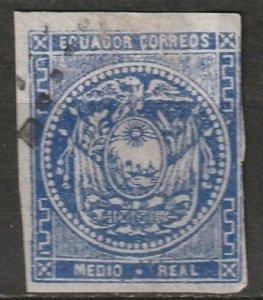 Ecuador 1865 Sc 2 used