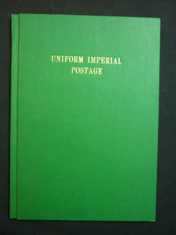 UNIFORM IMPERIAL POSTAGE - PHOTOCOPY by ROBERT J BEADON