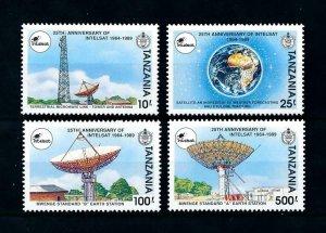 [102077] Tanzania 1991 Space travel weltraum Intelsat earth station  MNH