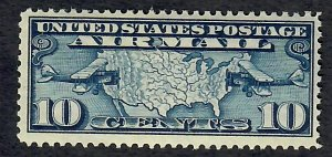 C7 Map and Planes MNH Single