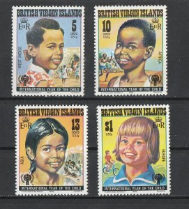 British Virgin Islands MNH 356-9 Year Of The Child