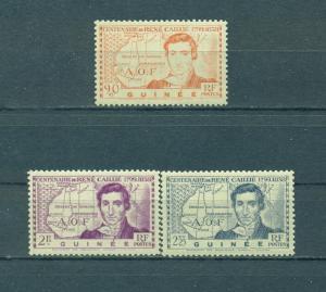 French Guinea sc# 161-163 (2) mdg cat value $3.20