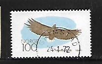 NORWAY, 554, USED, EAGLE