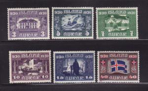 Iceland 152-156, 161 MHR Various