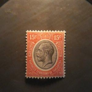 Tanganyika 31  1927  unused  VF