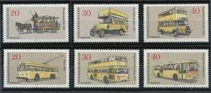 Berlin 335-340 MNH (1973)