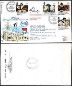 RFDC61b SASRA - 150 years of Forces Evangelism Signed by R.M. Llewellyn (A)