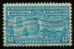 United States 1944 Postman and Motorcycle (Т-4616)