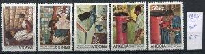 265851 ANGOLA 1983 year MNH stamp set postal service