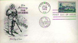 United States, First Day Cover, Polar, Pennsylvania