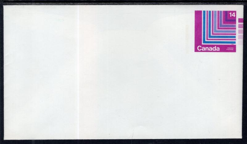 Canada Unitrade U107 Postal Envelope Unused VF