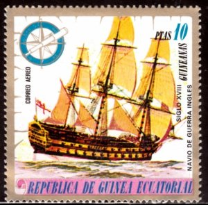 Equatorial Guinea, SW921, MNH, 1975, Ships, (LL02032)