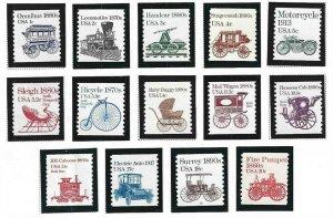 1981-1984 Transportation Coils (1897-1908), MNH, (1)