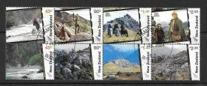 NEW ZEALAND SG2714b 2004 MAKING OF THE LORD OF THE RINGS FILMS FINE USED