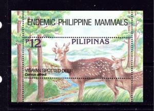 Philippines 2312 MNH 1994 Deer S/S