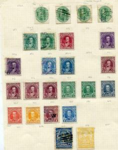 Venezuela Early Collection on 5 pages Used/Unused ven973