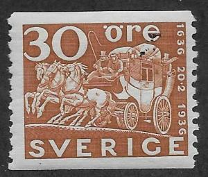 SWEDEN SC# 256  FVF/MOG 1936