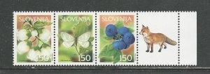 Slovenia Scott catalogue #504a Mint NH