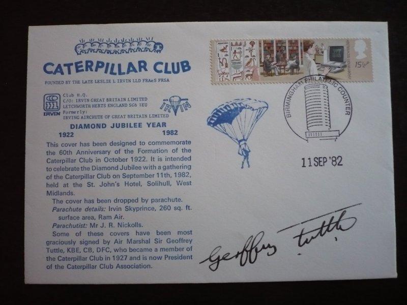 Great Britain - Cover - Caterpillar Club