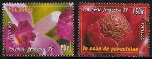 French Polynesia Scott #'s 859 - 860 MNH