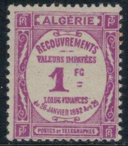 Algeria #J16*  CV $20.00