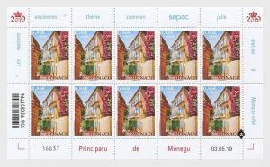 H01 Monaco 2019 Sepac 2019 - Old Residential Houses Sheetlets