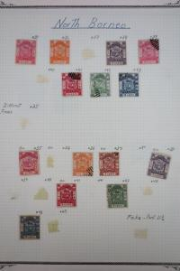 North Borneo 1800's to 1960's Stamp Collection