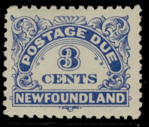 CANADA - Newfoundland GVI SG D3, 3c ultramarine, M MINT.