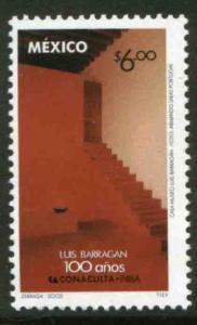 MEXICO 2297, Architect Luis Barragan Centenary of his Birth. MINT, NH. VF.