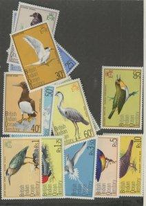 British Indian Ocean Territory 63-77 * mint lH bird (2107 277)
