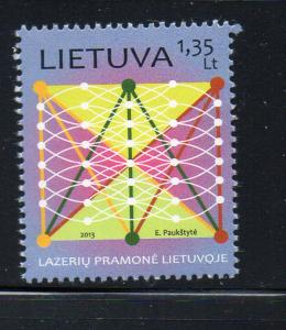 Lithuania Sc 992 2013 Laser Industry stamp mint NH
