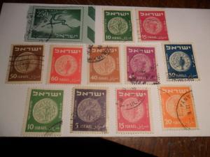 World Stamp lot -Isreal