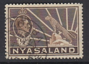 NORTHERN RHODESIA, Scott 54A, used