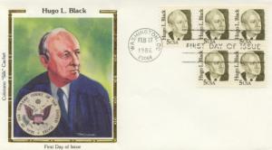 1986 Hugo Black Great Americans 2172 Colorano FDC