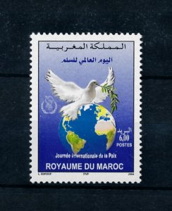 [102181] Morocco 2004 Birds vögel oiseaux peace dove  MNH
