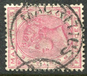 MAURITIUS (24876): WITHOUT DATES postmark/cancel