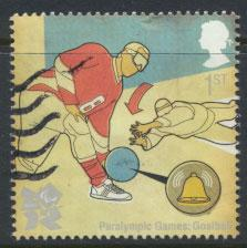 Great Britain SG 3105 SC# 2823 Oylmpics Goalball Used  see scan