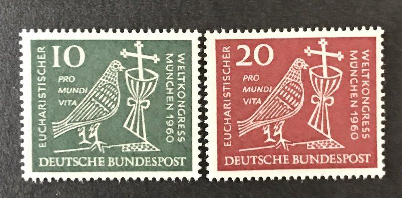 Germany  1960 #811-2, MNH, CV $1.15